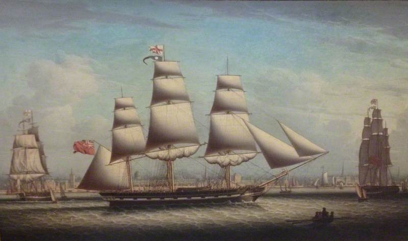 Shipping on the Mersey