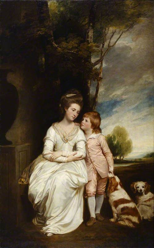 Anne, Countess of Albemarle, and Her Son