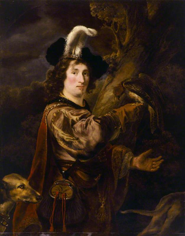 Portrait of a Man (as Aeneas at the Hunt)