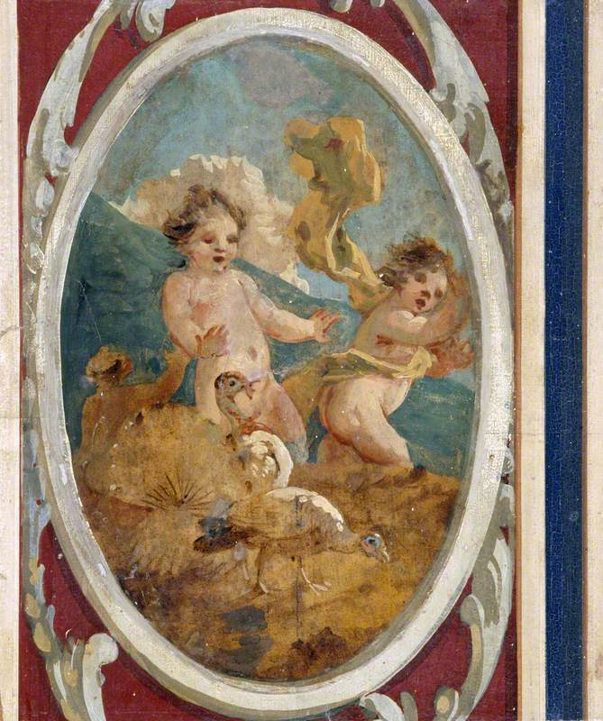 Putti with Turkeys