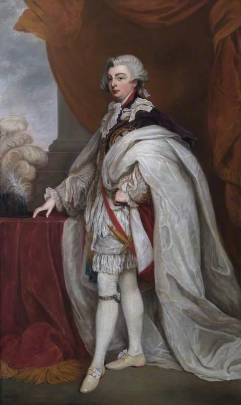 HRH George (1762–1830), Prince of Wales, KG