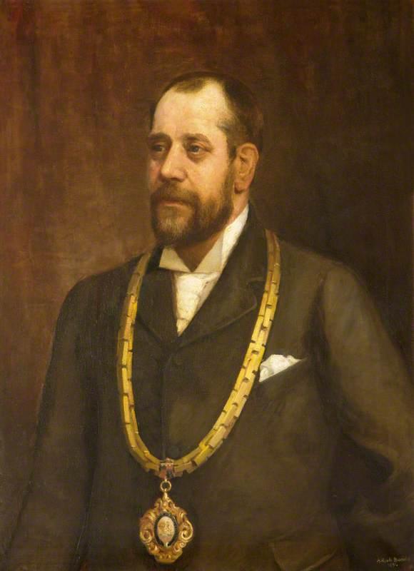 John Staniforth (1890–1891), Mayor