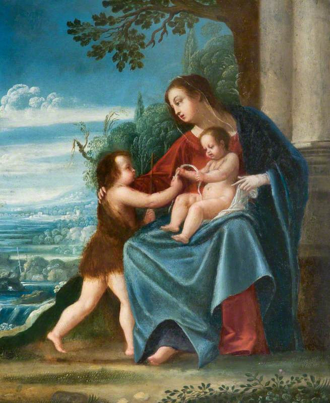 Virgin and Child with the Infant Baptist