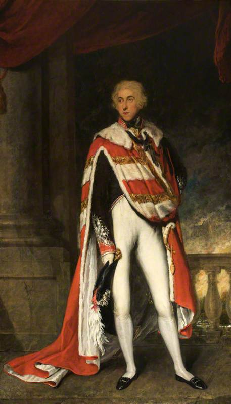 Sir John Fleming Leicester (1762–1827), 1st Lord de Tabley, in Peer's Robes