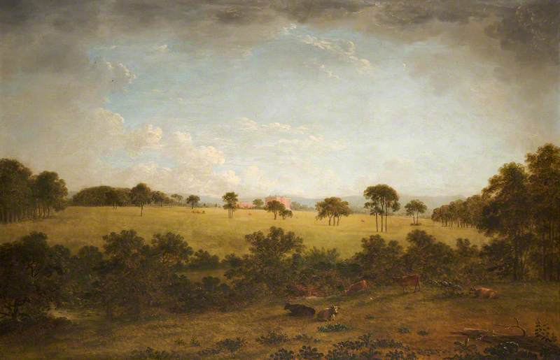 Tabley: The Park with a Distant View of the House