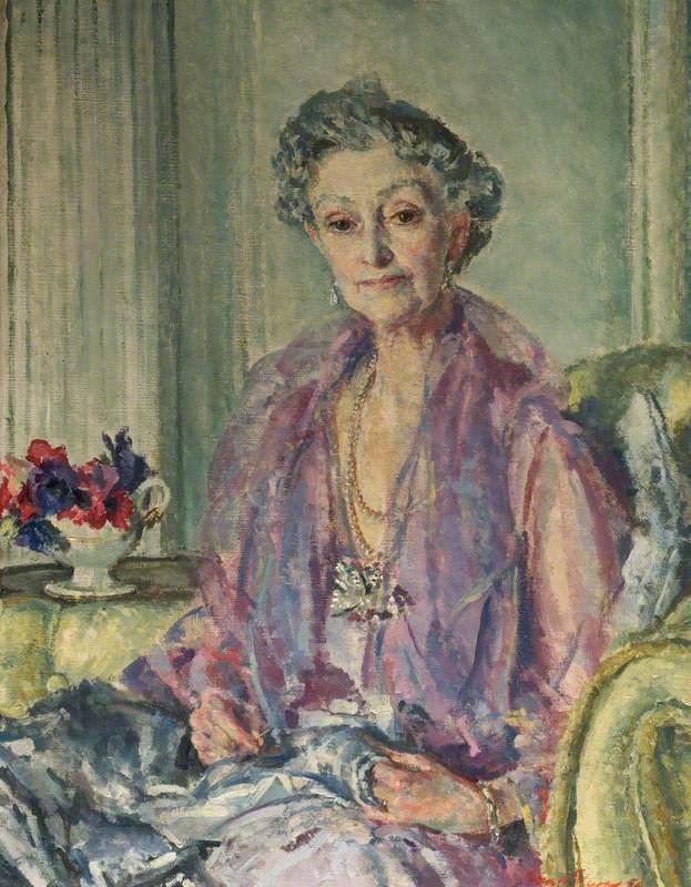 Hilda, née Davenport, Mrs Cuthbert Leicester Warren (1879–1954)