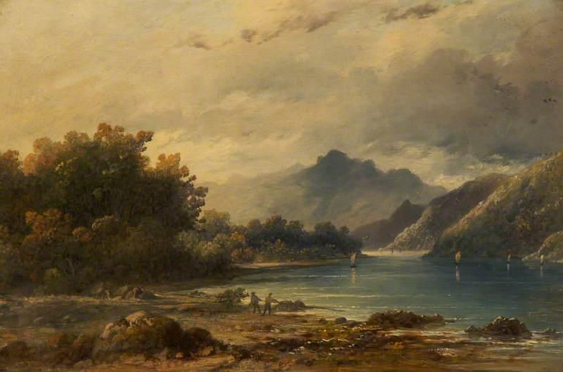Landscape with Men Fishing