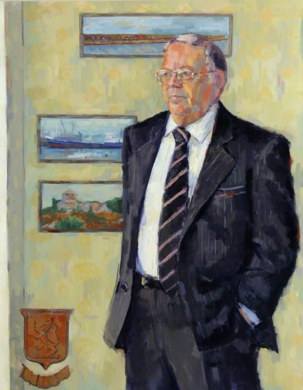 Jon Kay-Mouat (d.2010), OBE, President of Alderney (1975–1992 & 1996–2002)