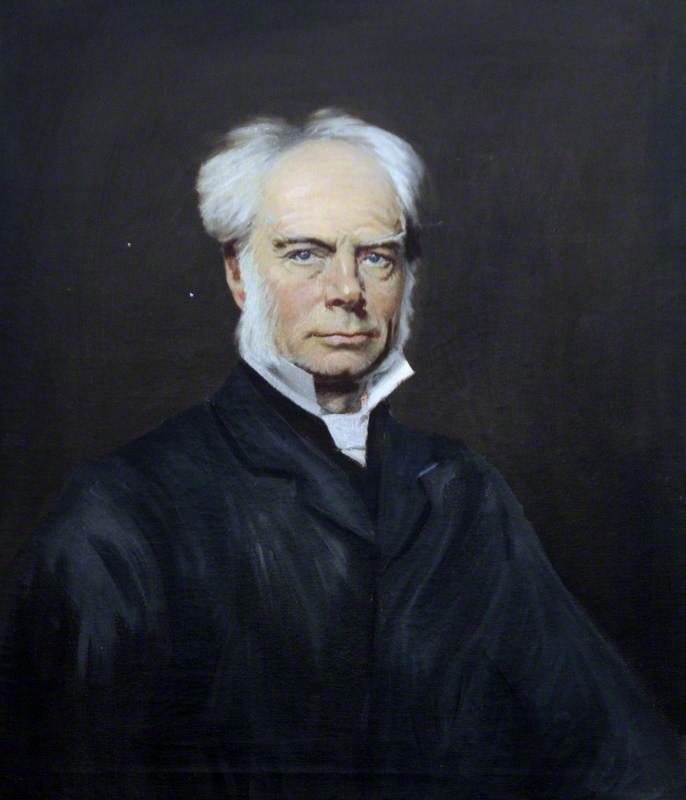 The Reverend John Edward Bromby (d.1889), DD, Headmaster of Elizabeth College (1847–1855)