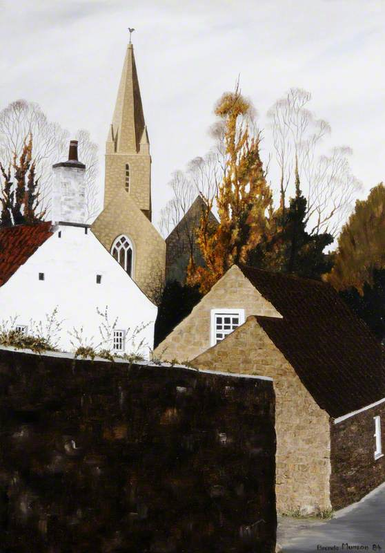 St Martin's Church from La Bellieuse