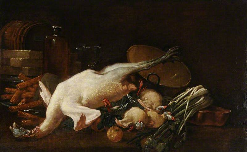 Still Life with a Plucked Turkey