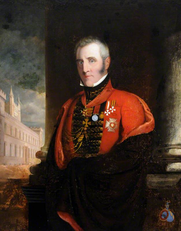 Major General Sir John Colborne (1778–1863), KCB, Lieutenant-Governor of Guernsey (1821–1827)