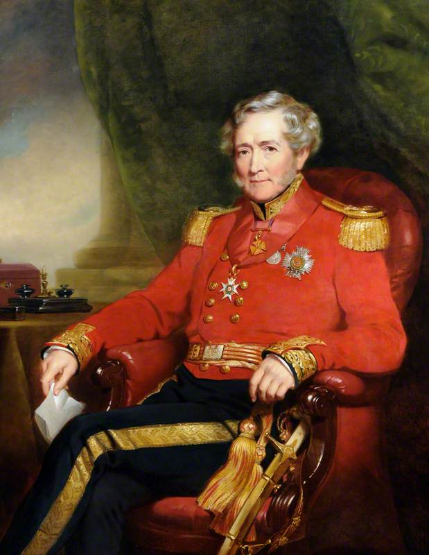 Lieutenant General Sir John Bell (1782–1876), KCB, Lieutenant-Governor of Guernsey (1848–1854)