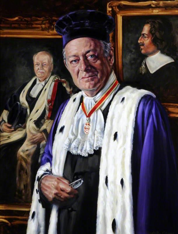 Sir de Vic Carey (b.1940), Bailiff of Guernsey