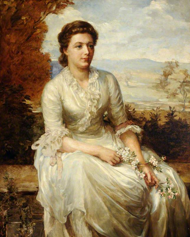 Lady Jane de Saumarez, née Jane Anne Broke (d.1933), Wife of James, 4th Baron de Saumarez