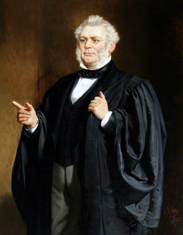 Francois Godfray (1807–1868), Advocate and Constable of St Helier