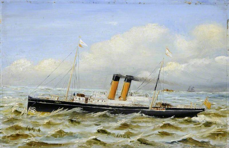 The SS 'Ibex'