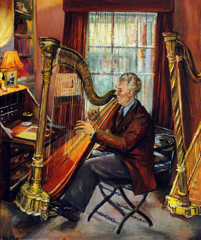 Carl Ames, Esq. and His Harps