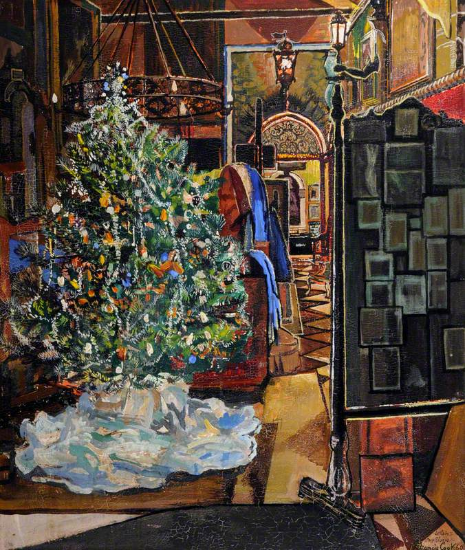 Le Coin – My Studio with Christmas Tree