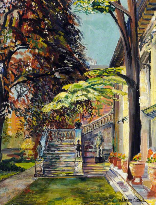 Gallery Backs: The Garden and Garden Gallery at Doughty House, Richmond Terrace