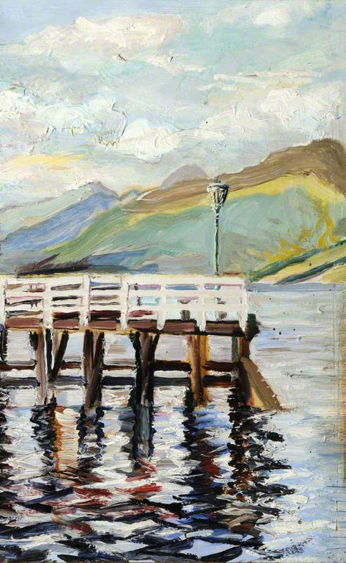 Pier End at Inverary, Scotland