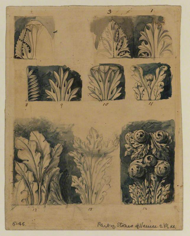 Leafage of the Venetian Capitals