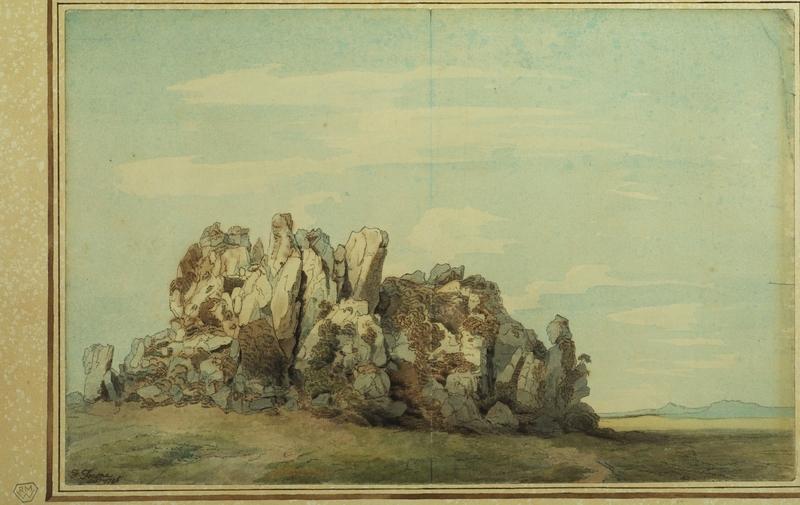 Landscape with Rocks – Roche Rock, Cornwall