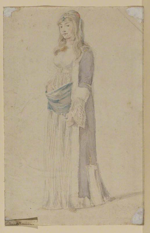 Young Woman in Athenian Dress