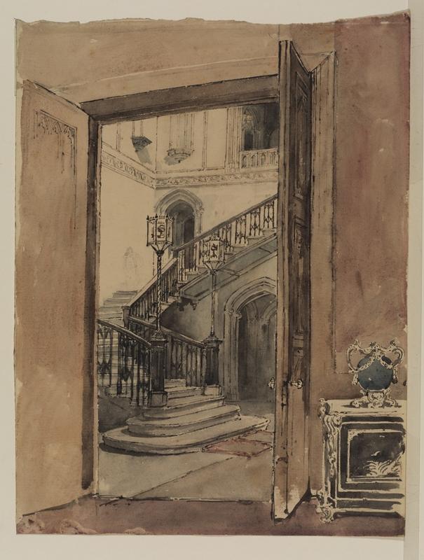 Staircase at Ashridge