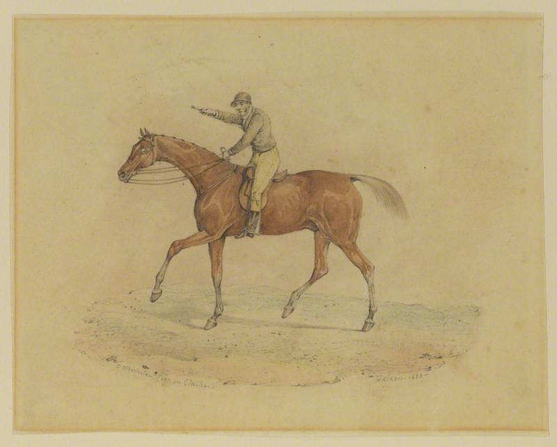 Horse and Jockey (George Osbaldeston and Clasher)