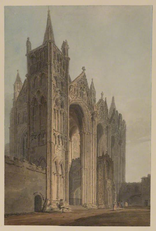 Peterborough Cathedral from the West Front