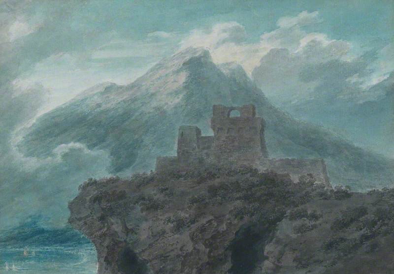 A Ruined Fort near Salerno