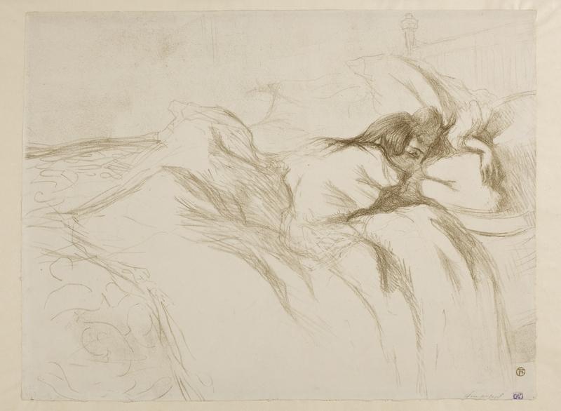 Woman Sleeping – Waking Up
