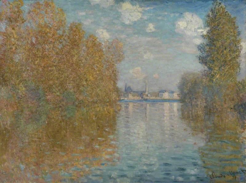 Autumn Effect at Argenteuil