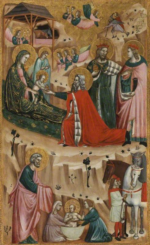 Nativity and Adoration of the Magi