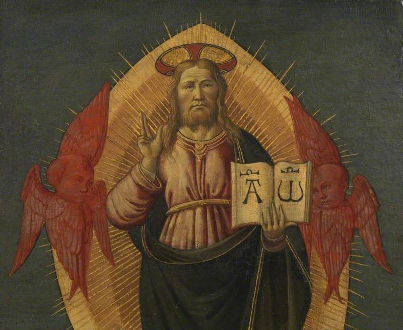 God the Father in an Attitude of Benediction
