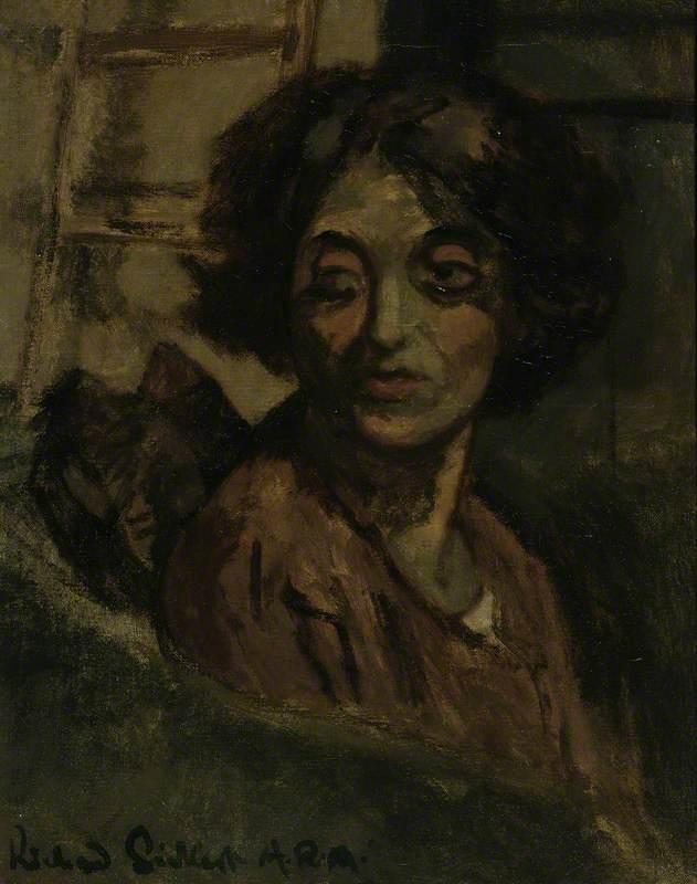 Portrait of a Woman – Thérèse Lessore