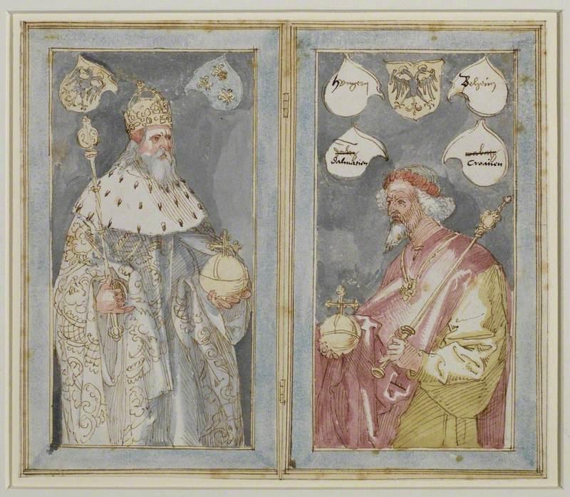 Emperors Charlemagne and Sigismund