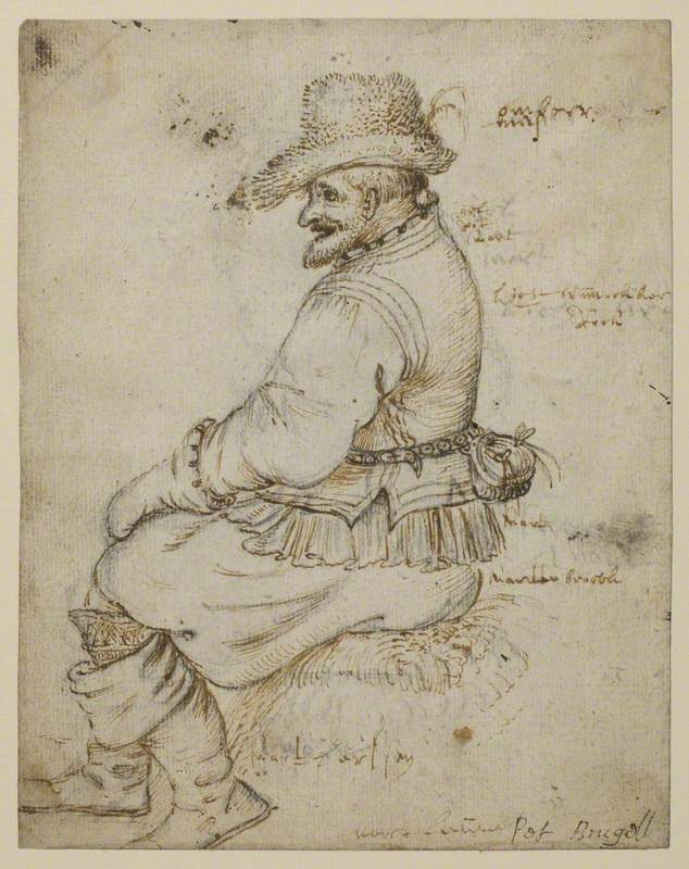 Seated Burgher