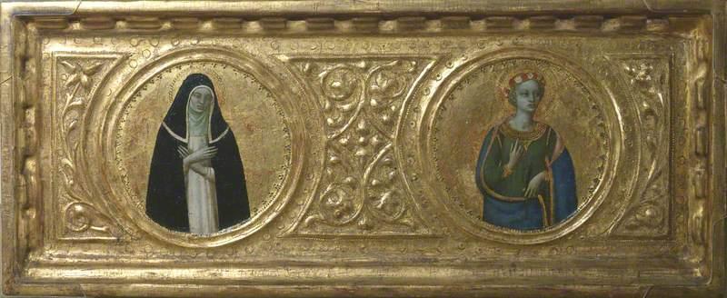 Saint Catherine of Siena and Saint Cecilia