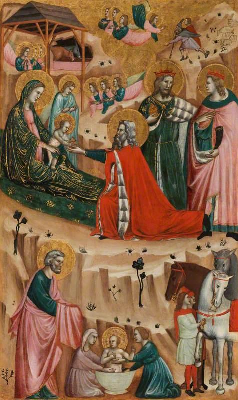 Nativity and Adoration of the Magi