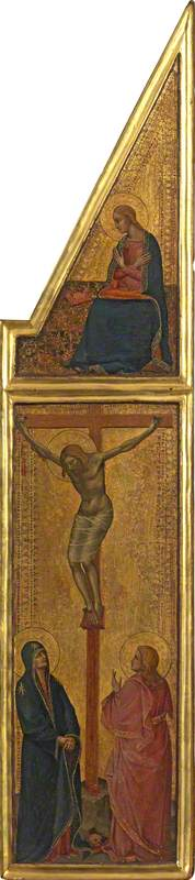 Crucifixion with Virgin of the Annunciation