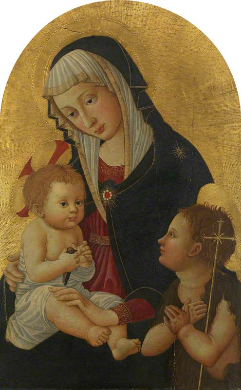 Virgin and Child with a Goldfinch and the Infant Saint John