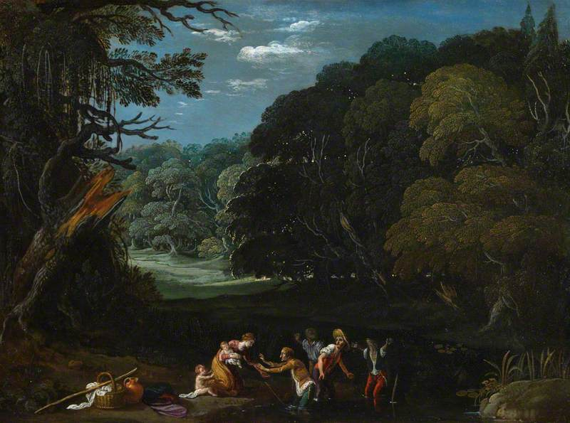 Latona Changing the Lycian Peasants into Frogs