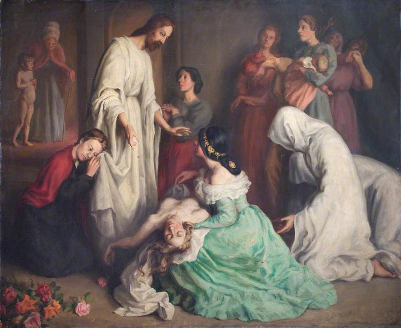 Christ and the Woman with Issue of Blood