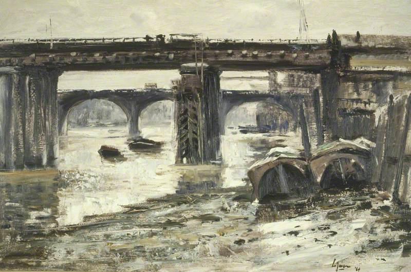 Two Bridges, Cannon Street Railway Bridge and London Bridge
