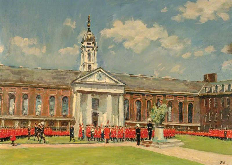 Oak Apple Day, Royal Hospital, Chelsea, London
