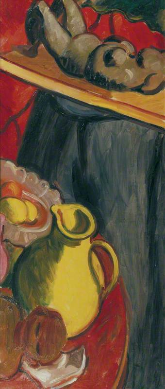 Still Life with a Clay Figure III