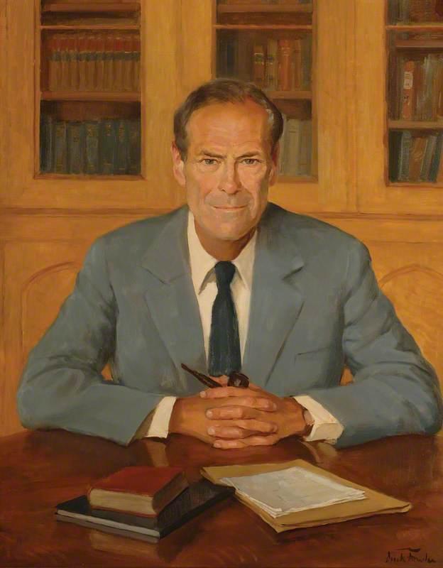 James Ashley Boyes (b.1924), Headmaster of the City of London School (1965–1984)