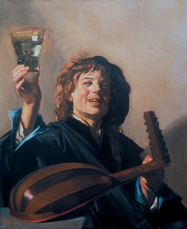 The Merry Lute Player